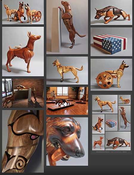 James Mellick Wounded Warrior Dogs project