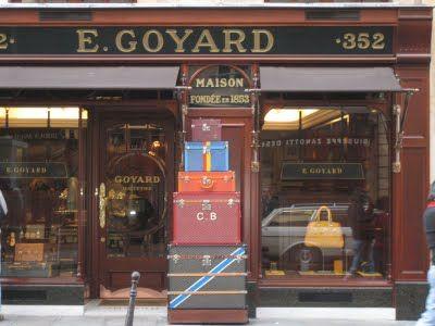 Goyard Boutique rue Saint Honoré Parigi