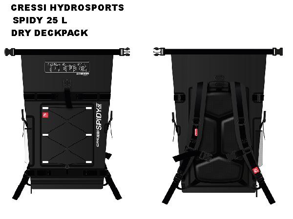 CRESSI HYDROSPORTS SPIDY 25 L DRY DECKPACK