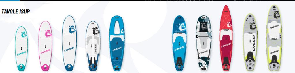 Hydrosports ISUP gonfiabile Cressi SUP canoe gonfiabili